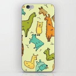 Llots of Llamas iPhone Skin