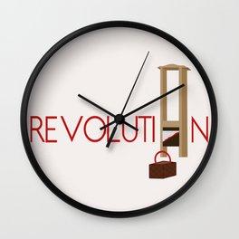 Revolution Guillotine Wall Clock