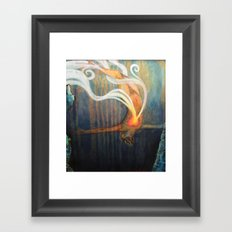 An Image of Dying Framed Art Print