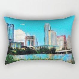 Austin, Texas - 2010 - Graphic 1 Rectangular Pillow