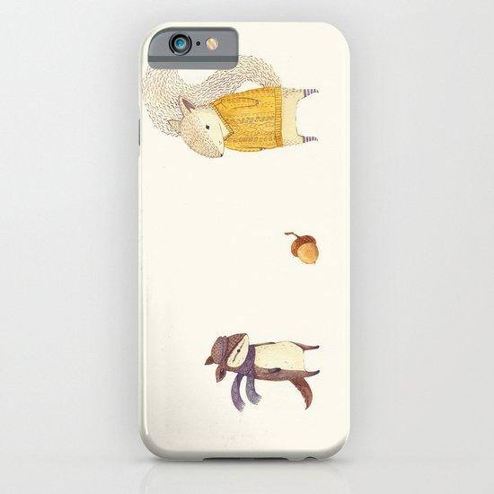 The Last Acorn of Autumn iPhone & iPod Case