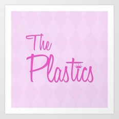The Plastics - from the movie Mean Girls Art Print