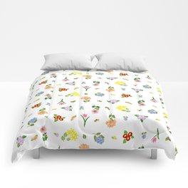 Flourishing Floral Comforters