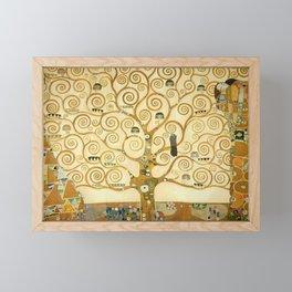 Gustav Klimt - Tree of Life Framed Mini Art Print