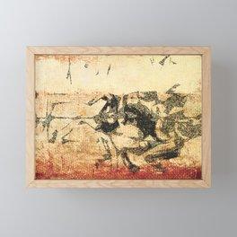 Miura II Framed Mini Art Print