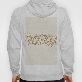 Colorful Heart Rate Hoody
