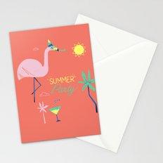 Corail Flamingo Stationery Cards