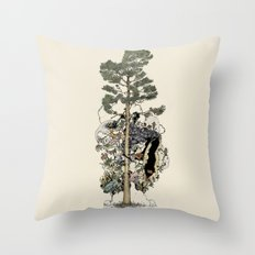 Everdream Pine Throw Pillow