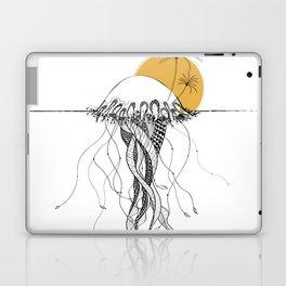 The Island - Minimal line Laptop & iPad Skin