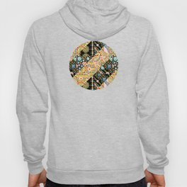 Crazy Patchwork Triangles Hoody