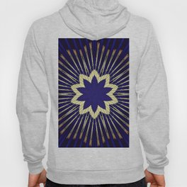 Blue art Hoody