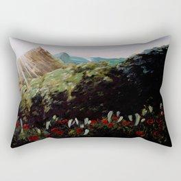 Mountain Top Rectangular Pillow