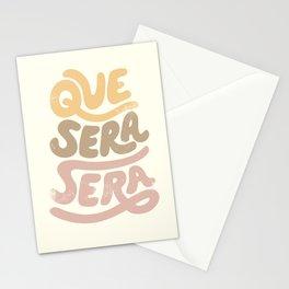 Que Sera Sera Vintage Stationery Cards