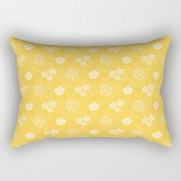 Hana - Sunny Yellow Rectangular Pillow
