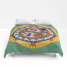 THE GREEN DRAGON Comforters