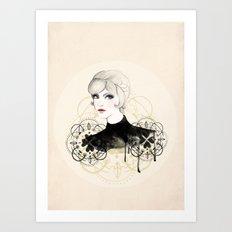 Lady 2 Art Print