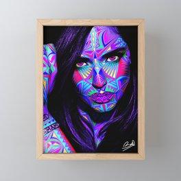 ETNIC-GIRL-ART Framed Mini Art Print