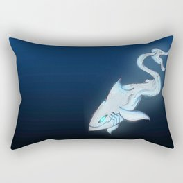 Great White Ghost Rectangular Pillow