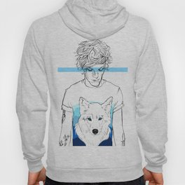 Louis and the wolf Hoody