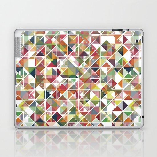 Chromatic Grid Laptop & iPad Skin