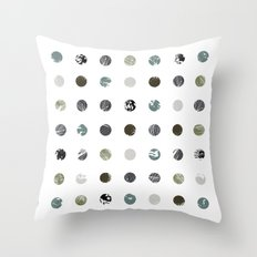 Graphic_Dots Throw Pillow