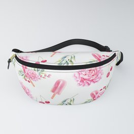Tropical Chill Rose Fanny Pack