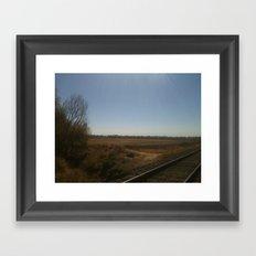 Lead me out Framed Art Print