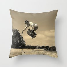 Adam Lindles Throw Pillow