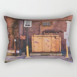 Shapes of Things series, from my street photography Rectangular Pillow