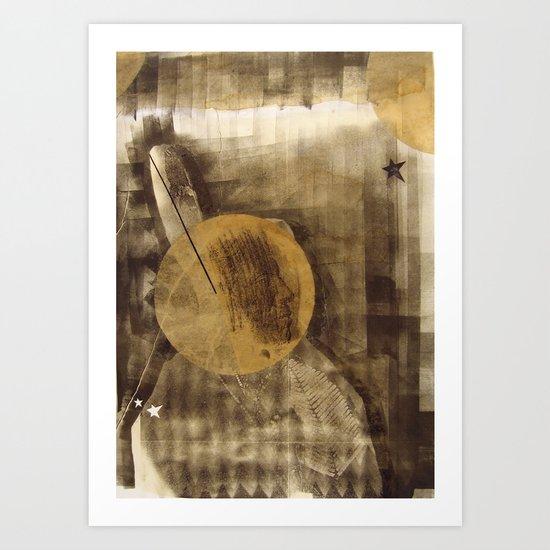 bcsm 002 (darkstar) Art Print
