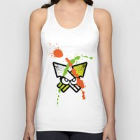Splatoon - Turf Wars 1 Unisex Tank Top