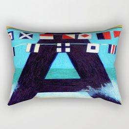 A is for Admiral Albert of the Atlantic Rectangular Pillow