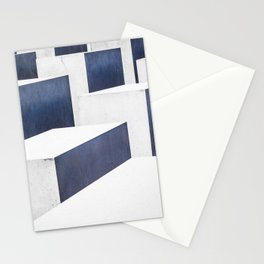 WHITE CONCRETE PAVEMENTS Stationery Cards