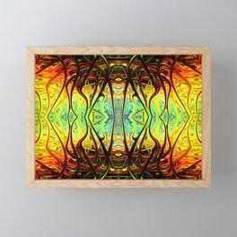 Alien Surface by Chris Sparks Framed Mini Art Print