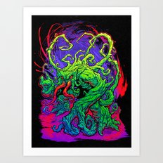 RISE, TENDRIL, RISE! Art Print