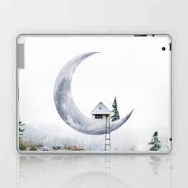 Moon House Laptop & iPad Skin