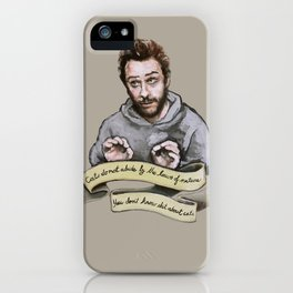 You don't know shit about cats iPhone Case