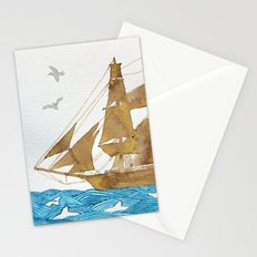 Accompanied - Acompañado - Accompagné Stationery Cards