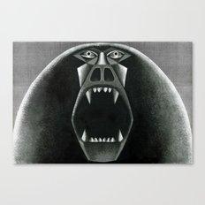 Berserker Baboon Canvas Print