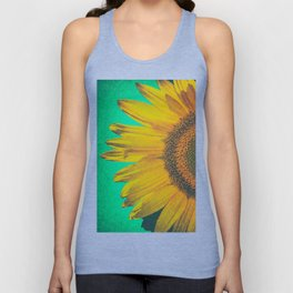 Sunflower vintage Unisex Tank Top