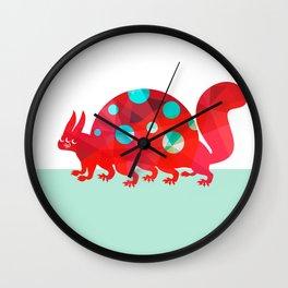 Oddities 2 - Tortoisquirrel Wall Clock