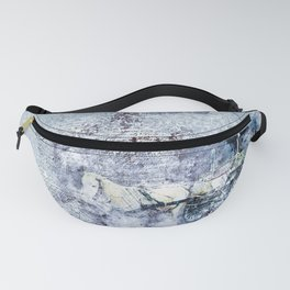 Horse & Carriage Vintage Watercolor Fanny Pack