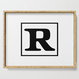 Rated R Serving Tray