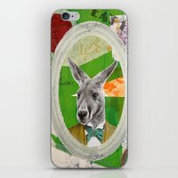 ben giles iPhone & iPod Skins featuring Giles 'Jocko' Keyton by ABC ART - Andrew Carter