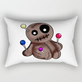 Womens Thinking About You | Voodoo Doll T-Shirt Rectangular Pillow