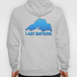 Great Lakes Lake Superior Outline Hoody