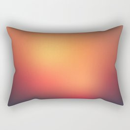 Sunset Gradient 4 Rectangular Pillow