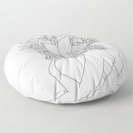 Blossom Hug Floor Pillow