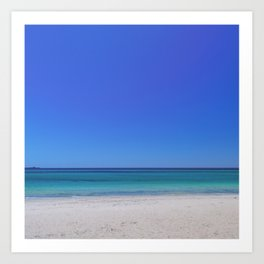 Near Busselton Jetty Art Print