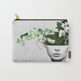 LADY FLOWERS XIII Carry-All Pouch